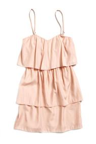 [Sample] Blake, orange frills & thrills dress