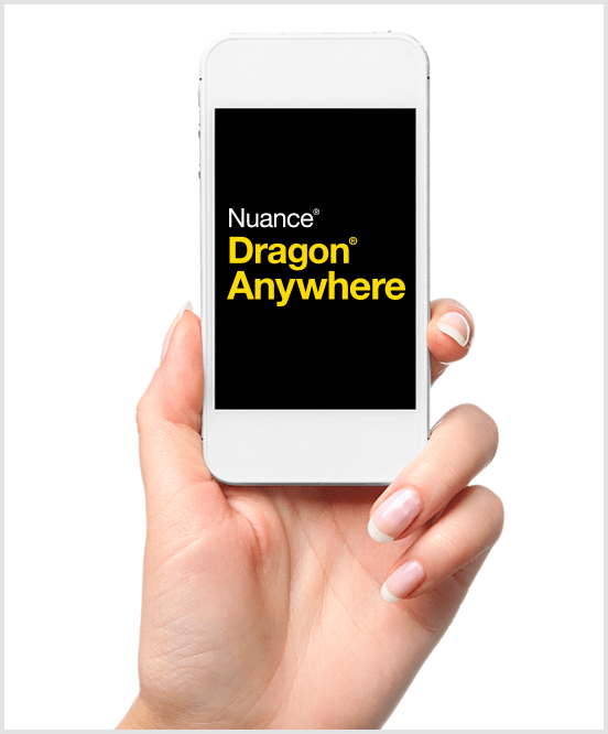 Nuance Dragon Anywhere on iPhone