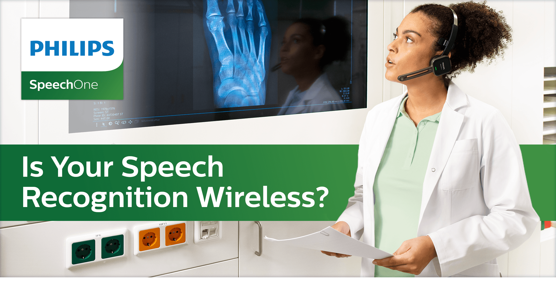 Philips SpeechOne - Is your speech recognition wireless?