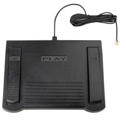 ECS 0502765 Dictaphone Transcription Transcriber Foot Pedal - New