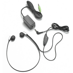 ECS Deluxe FlexFone FLX-10 3.5mm Mono/Stereo Under Chin Transcription Headset - New FLX10