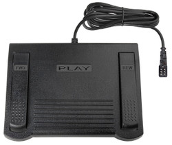 ECS LX-055-7 Lanier MedQuist Compatible Transcription Foot Pedal