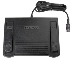 ECS IN-92 Heavy Duty Transcription Foot Pedal for use with Sanyo