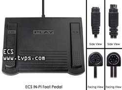 ECS IN-PI Heavy Duty Foot Pedal - New INPI