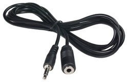 ECS 3.5 mm Female Mono to 3.5 mm Male Stereo Extender Cable - New