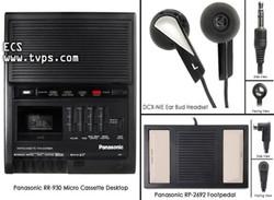 Panasonic RR-930 Micro Cassette Desktop Transcriber RR930 - Pre-Owned