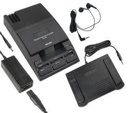 Philips 720-T Mini Cassette Transcriber  - Demo LFH0720