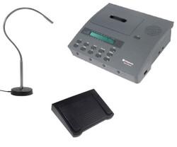 Dictaphone 2750 Hands Free Standard Cassette Dictator - Demo