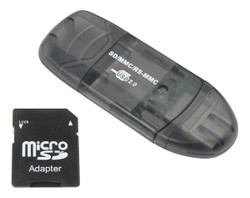 ECS SD-MMC-RS-MMC Memory Card Reader - New