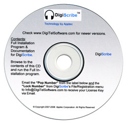 Apptec DigiScribe Digital Audio Transcription Software Download