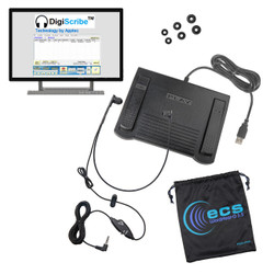 Apptec DigiScribe Digital Audio and Video Transcription Kit