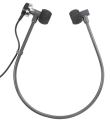 ECS 2000031 Twin Speaker Headset for Dictaphone New ECS-2000031