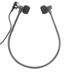 ECS 2000031 Twin Speaker Headset for Dictaphone New ECS-2000031
