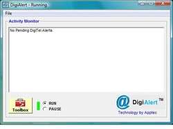 Apptec DigiAlert File Status Alert Utility Software - New