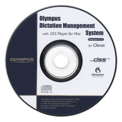 Olympus AS-7003 ODMS-R6 Software Dictation Upgrade - New