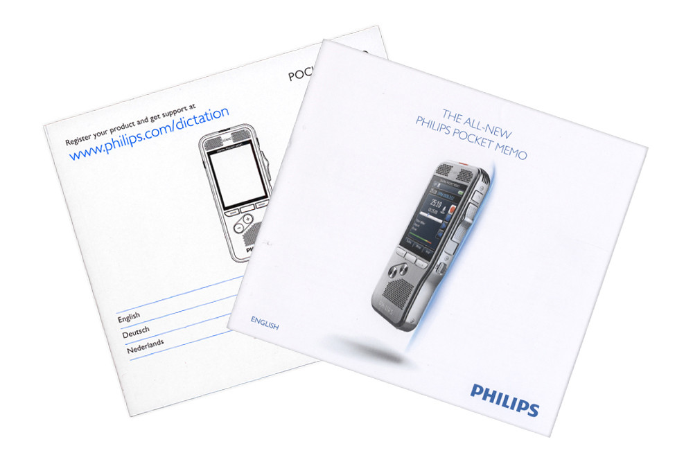 Philips Pocket Memo 8500 Digital Dictation Portable