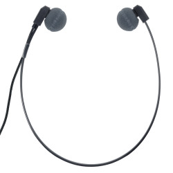 ECS WHUCDAP WordHear-O Under-chin Transcription Headset for Dictaphone