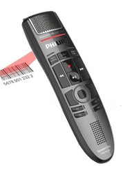 Philips SMP3800 SpeechMike Premium Touch Barcode Dictation Microphone