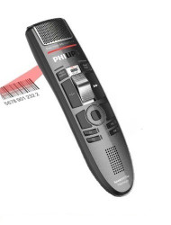 Philips SMP3810 SpeechMike Premium Touch Barcode Dictation Microphone