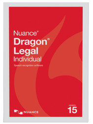 Nuance® Dragon® Legal Individual version 15 Digital Upgrade from Legal 13 and up