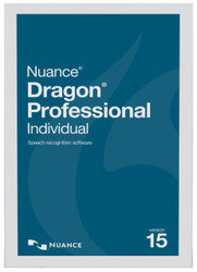 Nuance® Dragon® Professional Individual Version 15 Upgrade from Professional Version 13 and up