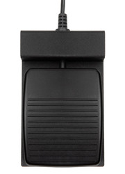 ECS-F4USB Single Transcription Foot Pedal Compatible with f4transkript and f4analyse