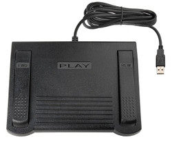 ECS FS-85USB-SO USB Transcription Foot Pedal for use with Sony Sound Organizer