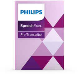 Philips PH-PSE4500-00 SpeechExec Pro Transcribe 10 software with Speech recognition