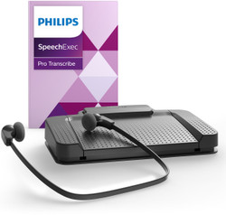 Philips PH-PSE7277-00 SpeechExec Pro Transcription 10 Kit with Speech recognition