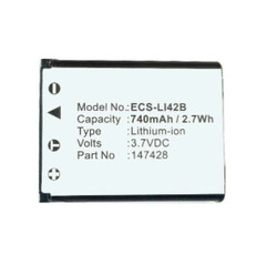 ECS LI-42B Olympus Compatible  Li-Ion Rechargeable Battery