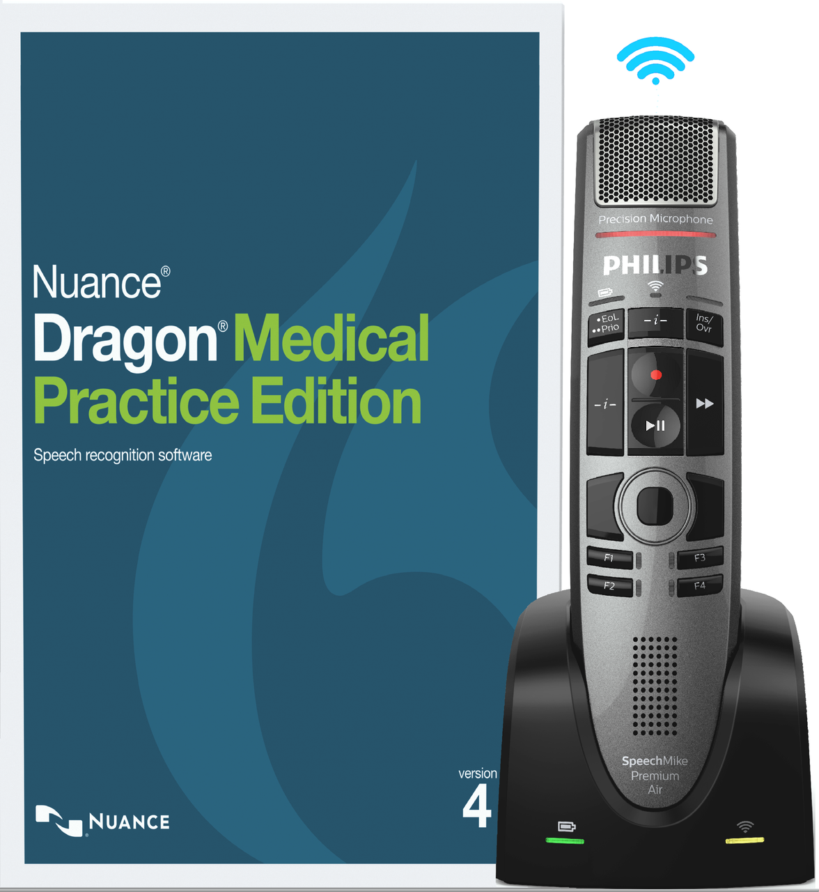 Nuance® Dragon® Medical Practice Edition 4 with Philips