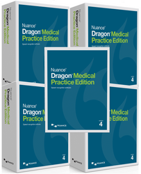 Nuance® Dragon® Medical Practice Edition 4 Speech Recognition Software - 5 pack