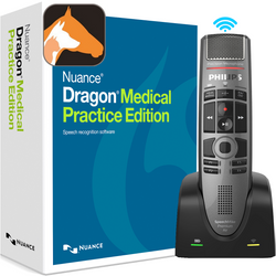 Nuance® Dragon® Medical Practice Edition 4 with Dragon Veterinary and Philips SMP4000
