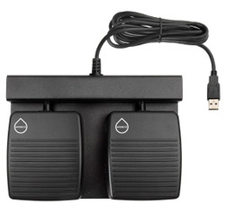 Custom Programmed Keystroke Double USB Water Proof Foot Pedal Control