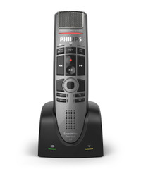 Philips SMP4000 SpeechMike Premium Air Wireless Dictation Microphone with a special configuration tool for compatibility with PowerScribe 360