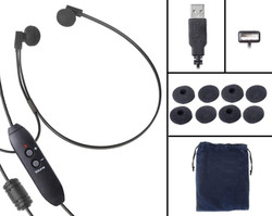 Spectra SP-USB USB Transcription Headset with Free Sponges