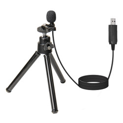 WordTieClip USB Omni-Directional Microphone with 5' Cable