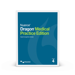 Nuance® Dragon® Medical Practice Edition 4 and PowerMic™ III with 9ft cable