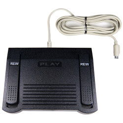 ECS Sony IN-25 Heavy Duty Transcription Foot Pedal - Pre-Owned