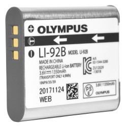 Olympus LI-92B Li-Ion Rechargeable Battery for DS9500 and DS-9000 - New LI92B