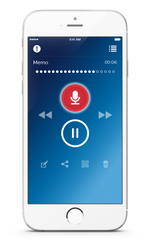Philips Voice recorder app for iPhone or Android