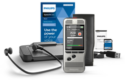 Philips Pocket Memo 6700 Digital Dictation and Transcription SpeechExec Basic 2 Year Subscription Set