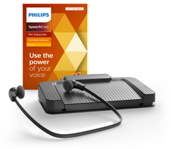 Philips LFH7277-08 With SpeechExec Pro Executive Transcription 2 Year Subscription Kit