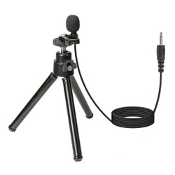 WordTieClip 3.5 mm Omni-Directional Mono Microphone with 3' Cable