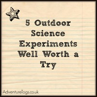 5 Outdoor Science Experiments