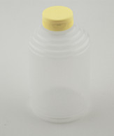 BOTTLE,2-LBROUND SQUEEZE,W/LID