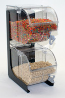 "Pittsburgh™ Cereal/Snack Display Stand ONLY for (2) 8""x10"" (08200TR) Scoop Bins"