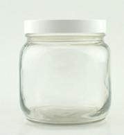 SPICE JAR, 60 OZ W/LID