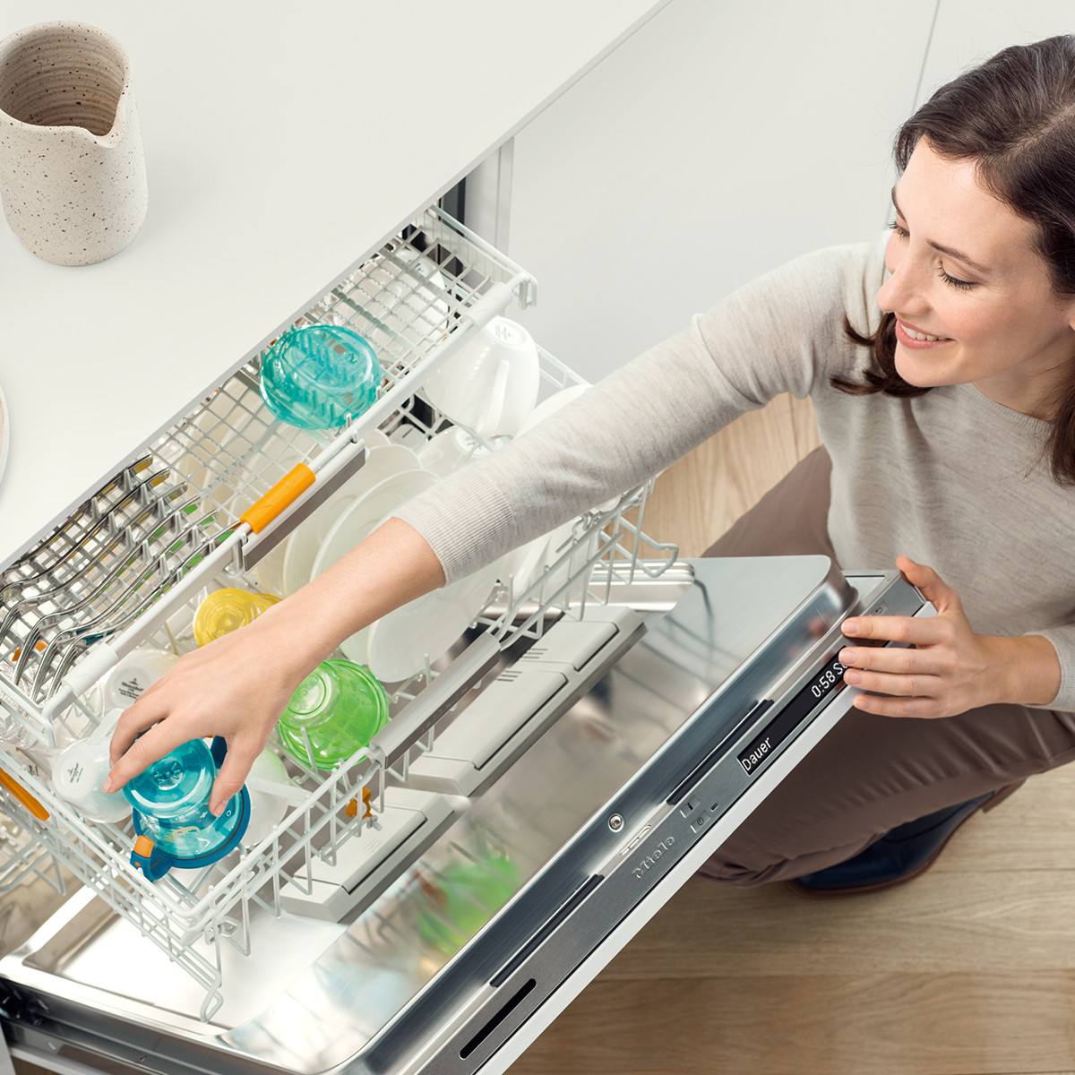 Miele Dishwashers Step ahead of the pack