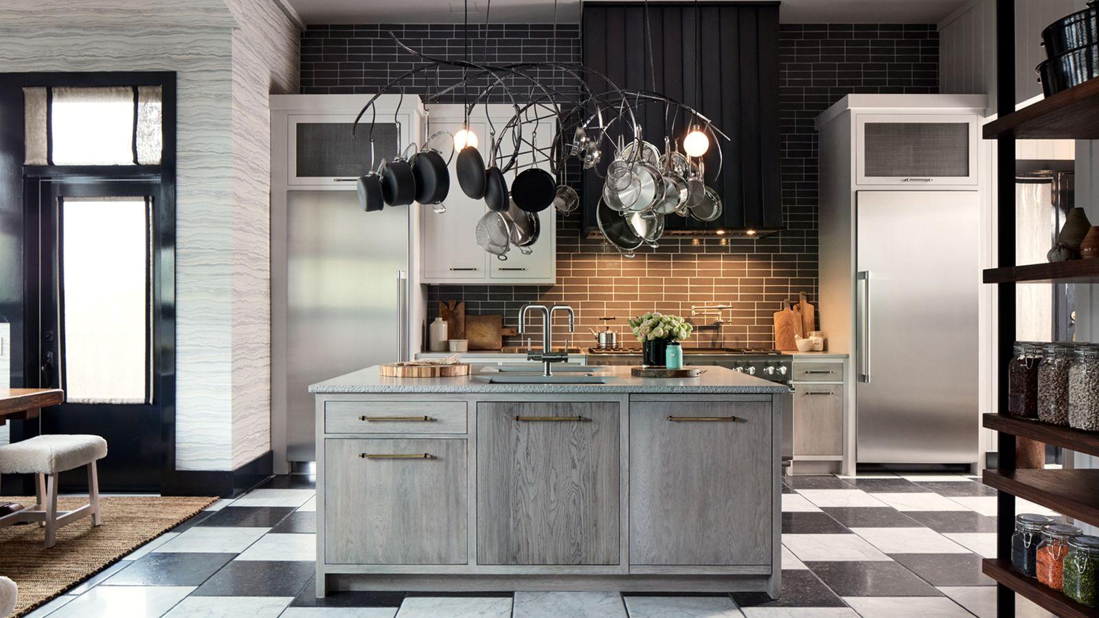 Design Kitchen 2017 Stainless steel refrigeration columns